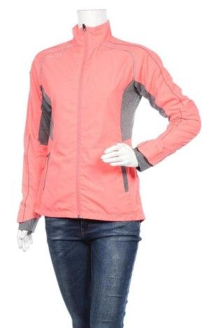 Γυναικεία αθλητική ζακέτα Hummel, Μέγεθος S, Χρώμα Ρόζ , Πολυεστέρας, Τιμή 18,84€