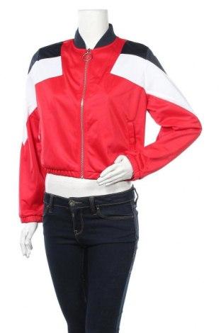 Дамско спортно горнище Urban Classics, Размер S, Цвят Червен, Полиестер, Цена 21,83лв.