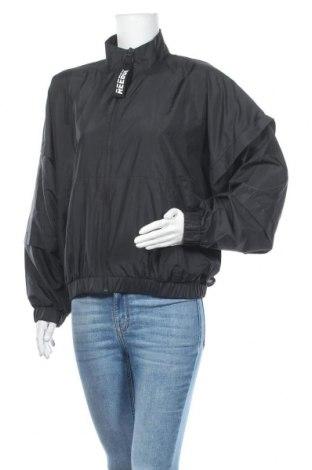 Дамско спортно яке Reebok, Размер L, Цвят Черен, Полиестер, Цена 45,15лв.