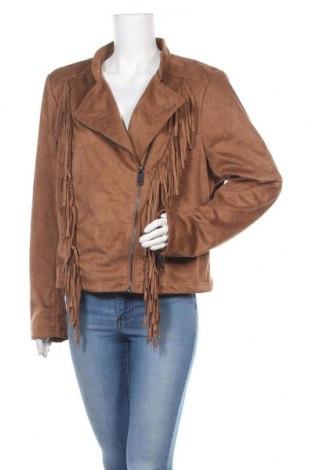Γυναικείο μπουφάν, Μέγεθος XXL, Χρώμα  Μπέζ, Πολυεστέρας, Τιμή 20,78€