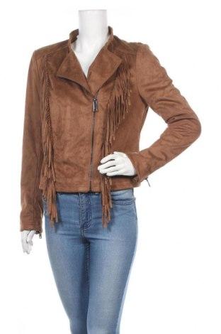 Γυναικείο μπουφάν, Μέγεθος M, Χρώμα  Μπέζ, Πολυεστέρας, Τιμή 19,74€
