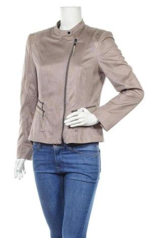Γυναικείο μπουφάν Gelco, Μέγεθος M, Χρώμα  Μπέζ, Πολυεστέρας, Τιμή 25,92€