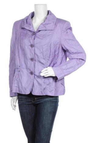 Γυναικείο μπουφάν Gerry Weber, Μέγεθος L, Χρώμα Βιολετί, Τιμή 37,67€
