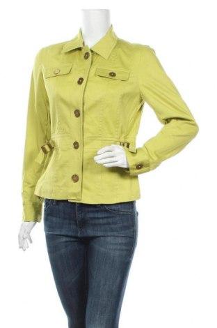 Γυναικείο μπουφάν Jones New York, Μέγεθος M, Χρώμα Πράσινο, 98% βαμβάκι, 2% ελαστάνη, Τιμή 31,82€