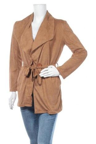 Γυναικείο μπουφάν Paris Et Moi, Μέγεθος S, Χρώμα Καφέ, 100% πολυεστέρας, Τιμή 27,28€