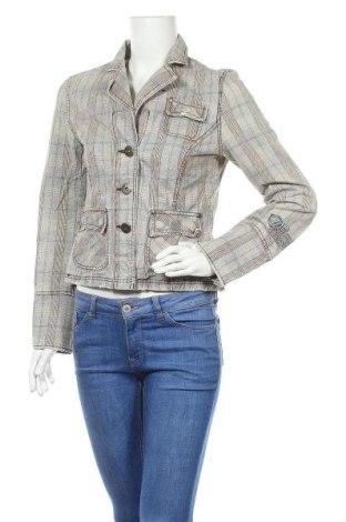 Γυναικείο μπουφάν Sublevel, Μέγεθος M, Χρώμα  Μπέζ, Βαμβάκι, Τιμή 24,06€