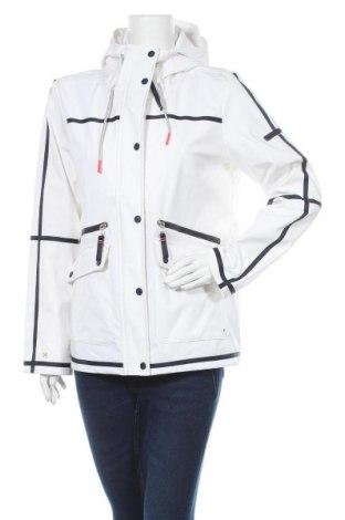 Дамско яке Tom Tailor, Размер XL, Цвят Бял, 94% полиестер, 6% еластан, Цена 75,60лв.