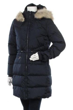 Γυναικείο μπουφάν Tommy Hilfiger, Μέγεθος L, Χρώμα Μπλέ, Πολυεστέρας, φτερά και πούπουλα, Τιμή 236,60€