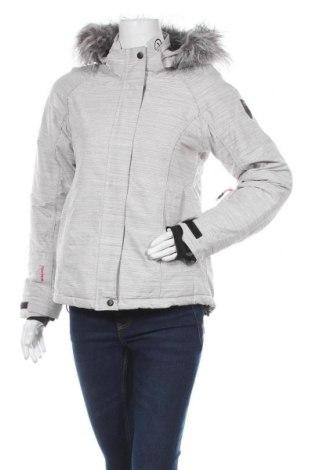 Дамско яке за зимни спортове Vertical, Размер S, Цвят Сив, Полиестер, Цена 51,66лв.