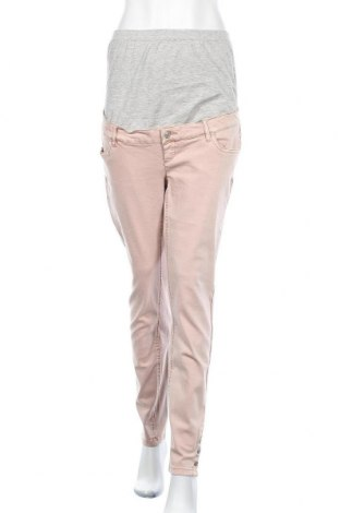 Дънки за бременни Mamalicious, Размер XL, Цвят Розов, 98% памук, 2% еластан, Цена 28,76лв.