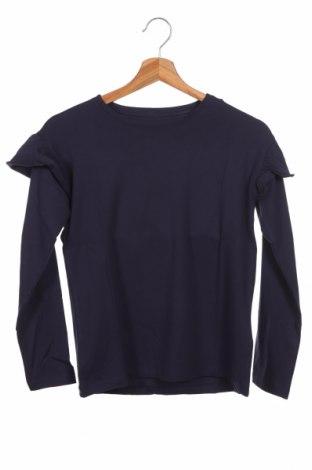 Dziecięca bluzka, Rozmiar 10-11y/ 146-152 cm, Kolor Niebieski, 95% bawełna, 5% elastyna, Cena 34,80zł