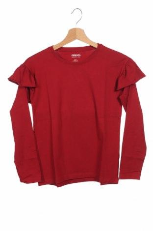 Dziecięca bluzka, Rozmiar 10-11y/ 146-152 cm, Kolor Czerwony, 95% bawełna, 5% elastyna, Cena 34,80zł