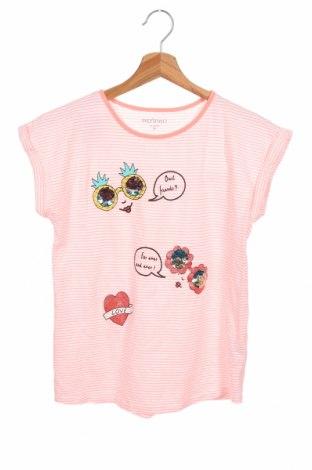 Детска блуза Inextenso, Размер 12-13y/ 158-164 см, Цвят Бял, 89% памук, 11% полиестер, Цена 13,97лв.