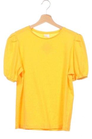 Детска блуза Zara, Размер 13-14y/ 164-168 см, Цвят Жълт, Цена 21,95лв.