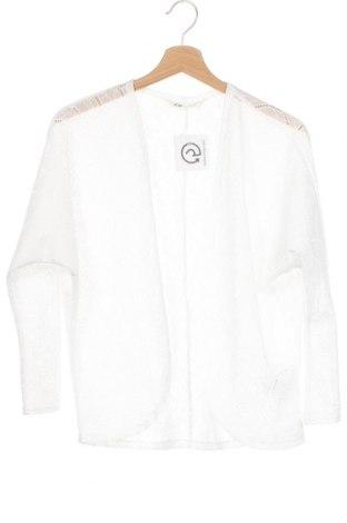 Детска жилетка H&M, Размер 10-11y/ 146-152 см, Цвят Бял, Полиестер, Цена 17,96лв.