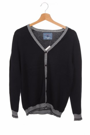 Детска жилетка Zara Knitwear, Размер 13-14y/ 164-168 см, Цвят Син, Цена 23,25лв.