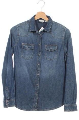 Παιδικό πουκάμισο, Μέγεθος 12-13y/ 158-164 εκ., Χρώμα Μπλέ, Βαμβάκι, Τιμή 4,57€