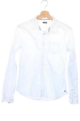Детска риза IKKS, Размер 13-14y/ 164-168 см, Цвят Бял, Памук, Цена 37,91лв.