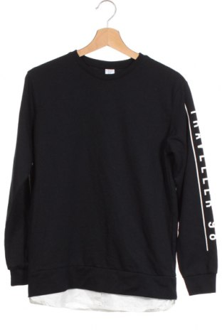 Детска блуза Lindex, Размер 12-13y/ 158-164 см, Цвят Черен, 70% памук, 30% полиестер, Цена 17,96лв.