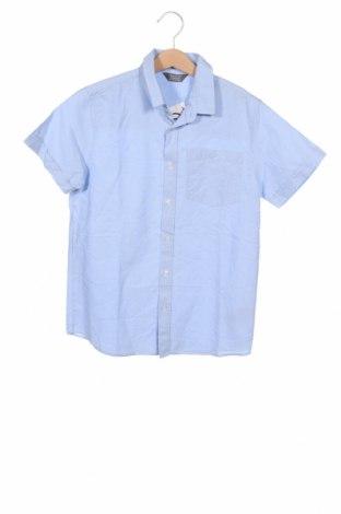 Детска риза Primark, Размер 11-12y/ 152-158 см, Цвят Син, Памук, Цена 11,97лв.
