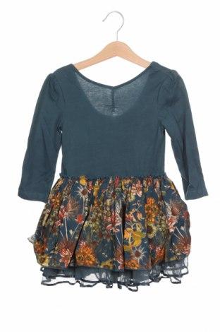 Παιδικό φόρεμα, Μέγεθος 3-4y/ 104-110 εκ., Χρώμα Πράσινο, Τιμή 22,68€
