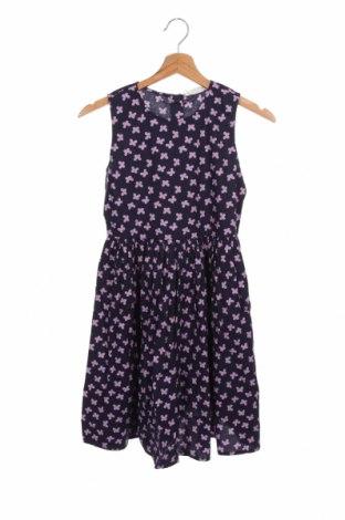 Παιδικό φόρεμα, Μέγεθος 10-11y/ 146-152 εκ., Χρώμα Μπλέ, Βαμβάκι, Τιμή 22,68€