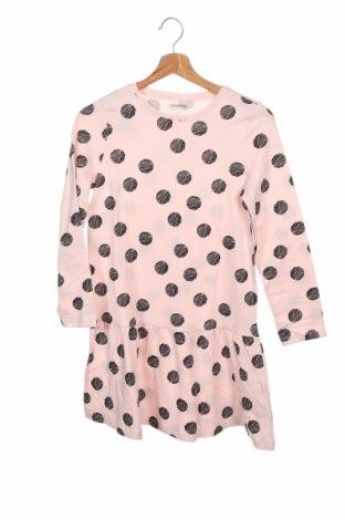 Детска рокля, Размер 10-11y/ 146-152 см, Цвят Розов, 95% памук, 5% еластан, Цена 34,50лв.