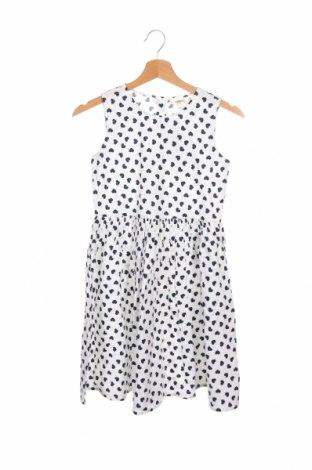 Детска рокля, Размер 10-11y/ 146-152 см, Цвят Бял, Памук, Цена 39,00лв.