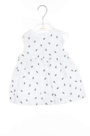 Παιδικό φόρεμα Babybol, Μέγεθος 3-6m/ 62-68 εκ., Χρώμα Λευκό, Βαμβάκι, Τιμή 21,65€