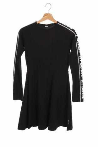 Παιδικό φόρεμα Bench, Μέγεθος 11-12y/ 152-158 εκ., Χρώμα Μαύρο, 95% βαμβάκι, 5% ελαστάνη, Τιμή 27,84€