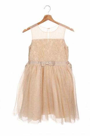 Детска рокля Friboo, Размер 10-11y/ 146-152 см, Цвят Бежов, Полиамид, Цена 48,30лв.
