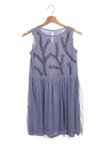 Детска рокля Friboo, Размер 10-11y/ 146-152 см, Цвят Син, Полиестер, Цена 41,30лв.