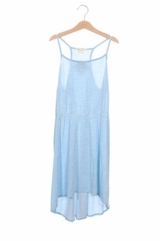 Rochie pentru copii H&M, Mărime 10-11y/ 146-152 cm, Culoare Albastru, 50% bumbac, 50% modal, Preț 14,09 Lei