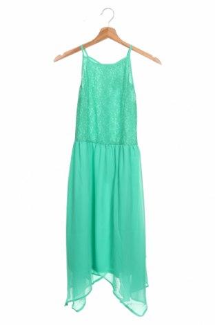 Παιδικό φόρεμα Lemon Beret, Μέγεθος 12-13y/ 158-164 εκ., Χρώμα Πράσινο, Πολυεστέρας, Τιμή 30,41€