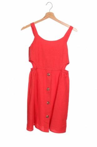 Παιδικό φόρεμα Lemon Beret, Μέγεθος 10-11y/ 146-152 εκ., Χρώμα Κόκκινο, 98% βισκόζη, 2% λινό, Τιμή 26,80€