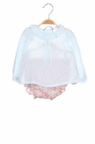 Παιδικό φόρεμα Lola Palacios, Μέγεθος 9-12m/ 74-80 εκ., Χρώμα Μπλέ, Βαμβάκι, Τιμή 26,80€