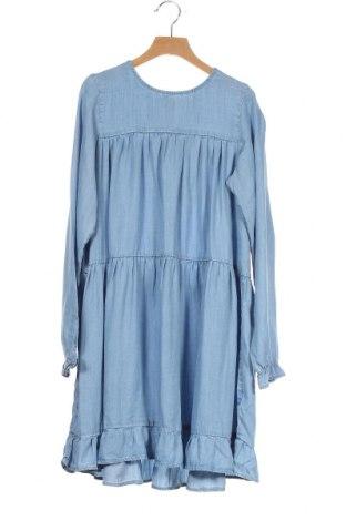 Детска рокля Name It, Размер 11-12y/ 152-158 см, Цвят Син, Лиосел, Цена 31,92лв.