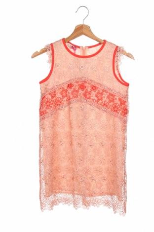Παιδικό φόρεμα Pinko, Μέγεθος 8-9y/ 134-140 εκ., Χρώμα  Μπέζ, Πολυεστέρας, Τιμή 42,94€