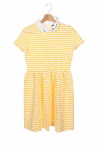 Παιδικό φόρεμα Polo By Ralph Lauren, Μέγεθος 14-15y/ 168-170 εκ., Χρώμα Κίτρινο, 92% βαμβάκι, 7% πολυεστέρας, 1% ελαστάνη, Τιμή 57,60€