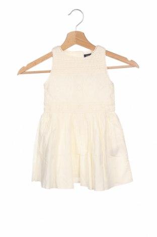 Παιδικό φόρεμα Polo By Ralph Lauren, Μέγεθος 18-24m/ 86-98 εκ., Χρώμα Εκρού, Βαμβάκι, Τιμή 57,60€