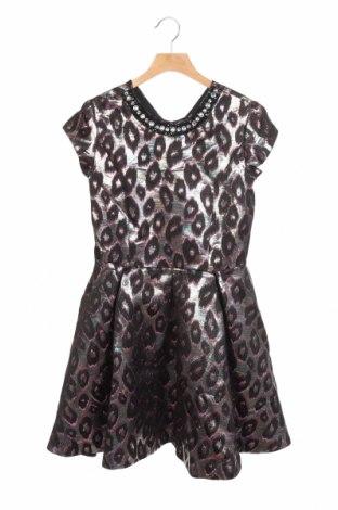 Dětské šaty  River Island, Velikost 9-10y/ 140-146 cm, Barva Vícebarevné, 90% polyester, 10% kovové nitě, Cena  587,00Kč