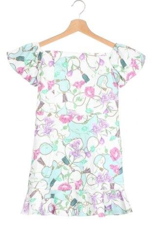 Детска рокля River Island, Размер 8-9y/ 134-140 см, Цвят Многоцветен, 98% памук, 3% еластан, Цена 40,50лв.