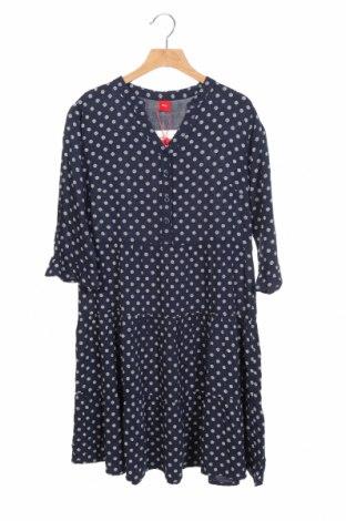 Παιδικό φόρεμα S.Oliver, Μέγεθος 12-13y/ 158-164 εκ., Χρώμα Μπλέ, Βισκόζη, Τιμή 30,41€