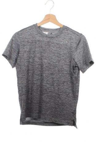 Dětské tričko  Adidas, Velikost 11-12y/ 152-158 cm, Barva Šedá, Polyester, Cena  288,00Kč