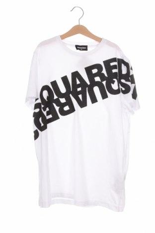 Παιδικό μπλουζάκι Dsquared2, Μέγεθος 13-14y/ 164-168 εκ., Χρώμα Λευκό, Βαμβάκι, Τιμή 52,30€