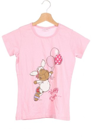 Детска тениска Nici, Размер 11-12y/ 152-158 см, Цвят Розов, Памук, Цена 17,96лв.