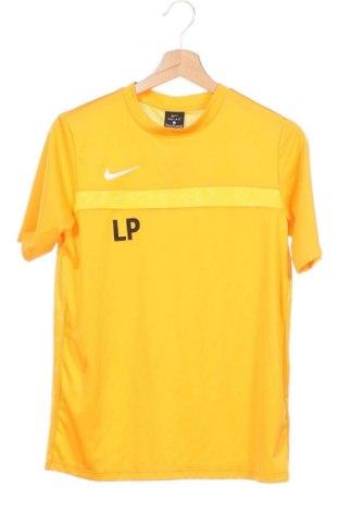 Dětské tričko  Nike, Velikost 14-15y/ 168-170 cm, Barva Žlutá, Polyester, Cena  333,00Kč