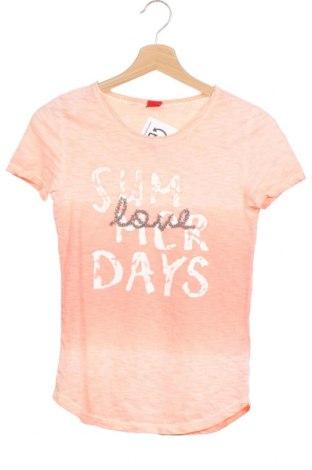 Детска тениска S.Oliver, Размер 12-13y/ 158-164 см, Цвят Розов, Памук, Цена 17,96лв.