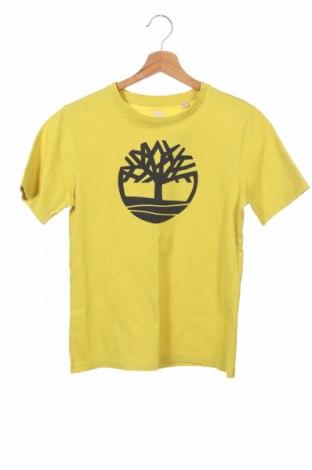 Dětské tričko  Timberland, Velikost 13-14y/ 164-168 cm, Barva Žlutá, Cena  383,00Kč