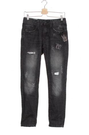 Dziecięce jeansy Chapter, Rozmiar 13-14y/ 164-168 cm, Kolor Szary, 73% bawełna, 27% poliester, Cena 39,00zł